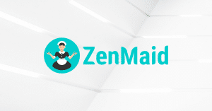 ZenMaid logo on white background