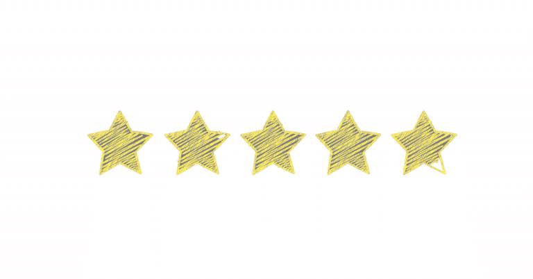 five yellow stars