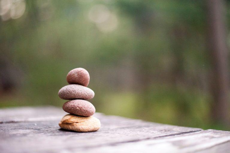 stones in nature
