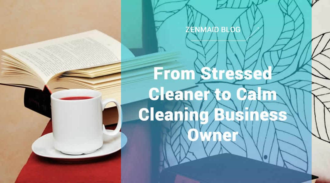 From Stressed Cleaner to Calm Cleaning Business Owner