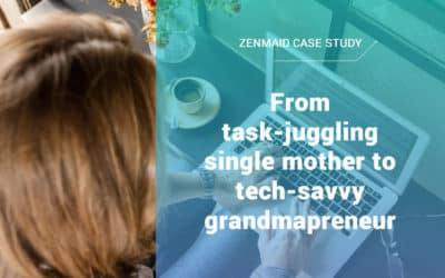 From task-juggling single mother to tech-savvy grandmapreneur